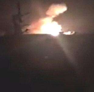 Израильские военные обстреляли ракетами сирийский аэродром под Дамаском