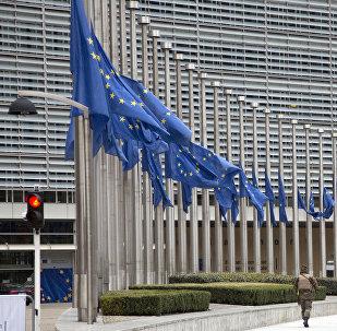 Avropa İttifaqının Brüsseldəki mənzil-qərargahı, arxiv şəkli