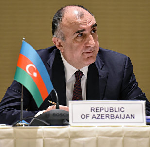 Министр иностранных дел АР Эльмар Мамедъяров. Архивное фото