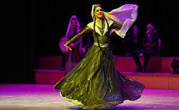 Концерт Аджарского академического ансамбля песни и танца в Баку