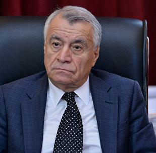 Натиг Алиев, министр энергетики Азербайджана, фото из архива