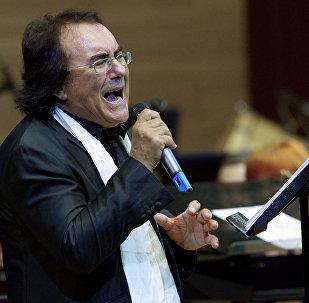 Концерт итальянского певца Аль Бано в Москве