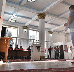 Голосование в Кыргызстане, фото из архива