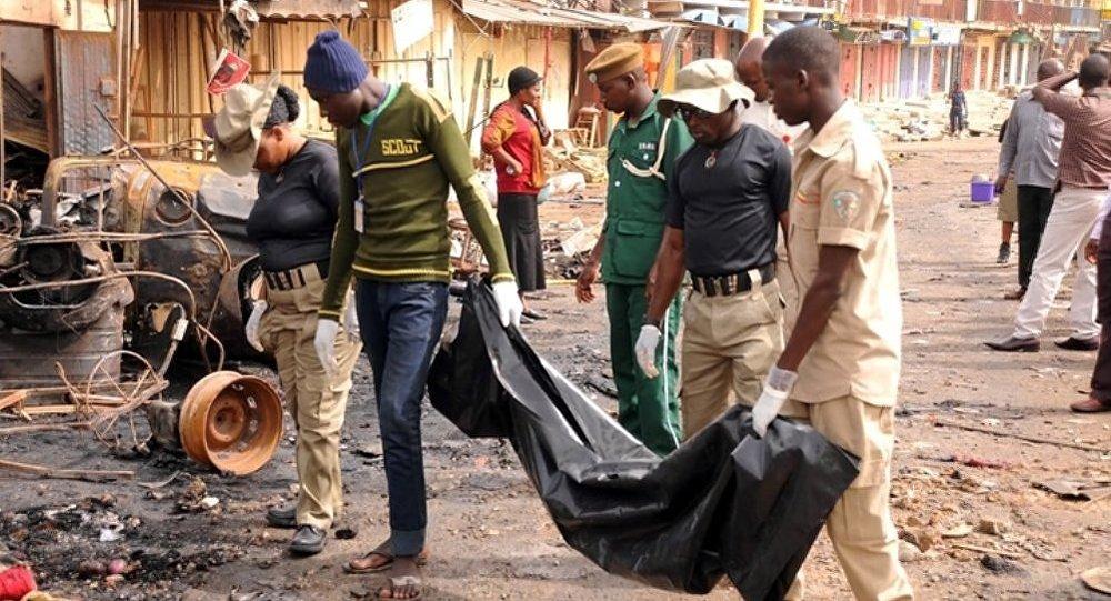 Две смертницы подорвали себя нарынке вНигерии