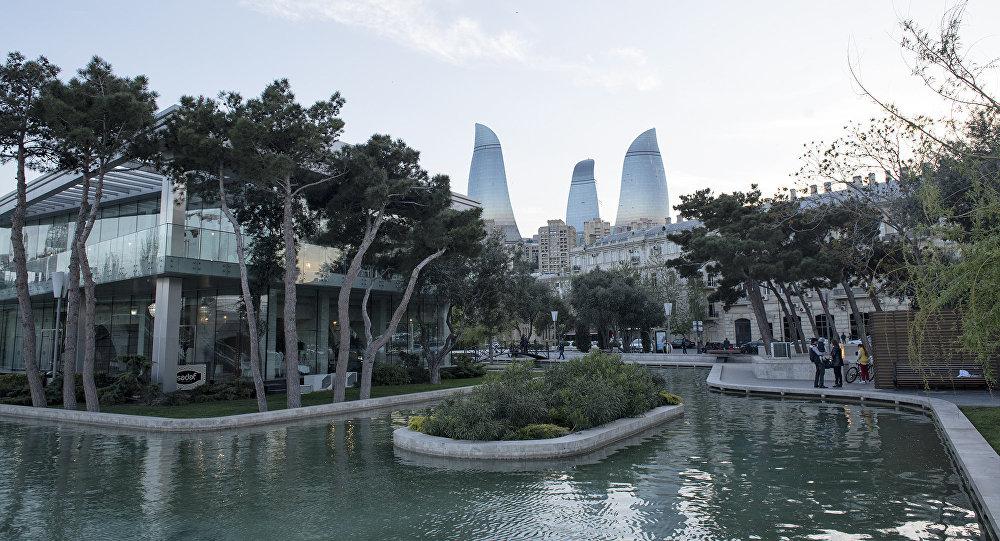 Ясная погода в Баку. Архивное фото