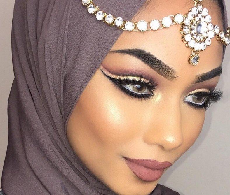 Мусульманские девушки макияж