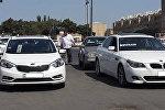 Təlim avtomobilləri, arxiv şəkli