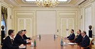 İlham Əliyev ABŞ Dövlət Departamentinin xüsusi elçisi və əlaqələndiricisinin başçılıq etdiyi nümayəndə heyətini qəbul edib
