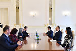 İlham Əliyev Bolqarıstanın vitse-prezidentinin başçılıq etdiyi nümayəndə heyətini qəbul edib