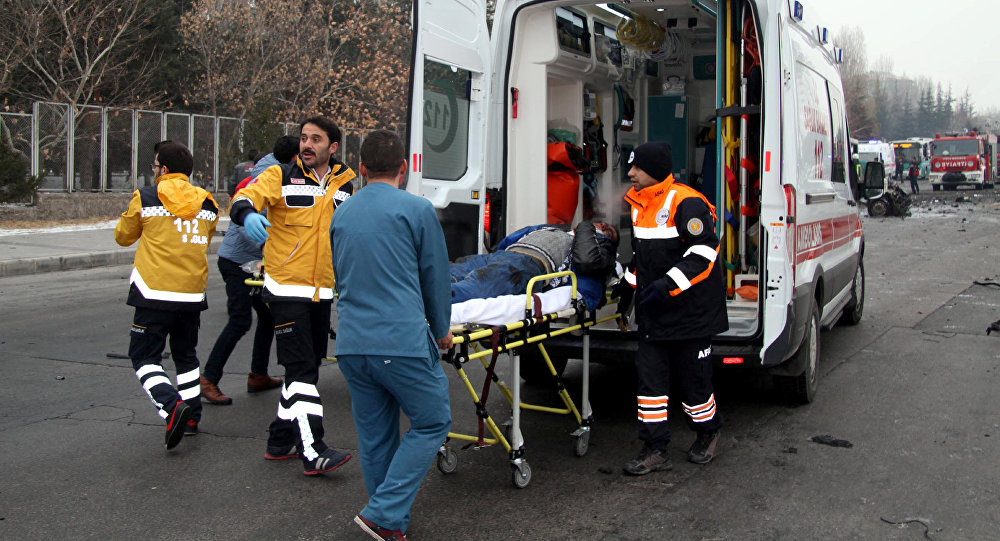 Тринадцать военных погибли в итоге взрыва втурецком городе Кайсери