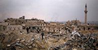 Разрушения в Алеппо, фото из архива