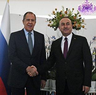 Lavrov və Çavuşoğlu