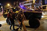 Кадры с места нападения на посла РФ в Турции