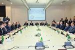 Церемония подписания соглашения по строительству современного металлургического комплекса