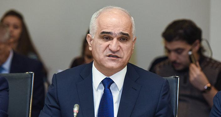 Министр экономики Шахин Мустафаев