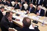 В Москве состоялась встреча глав внешнеполитических ведомств России и Ирана Сергея Лаврова и Мохаммада Джавада Зарифа