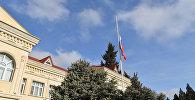 Российское посольстве в Баку, фото из архива