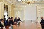 Президент Азербайджана Ильхам Алиев принял министра экономики Турции Нихата Зейбекчи