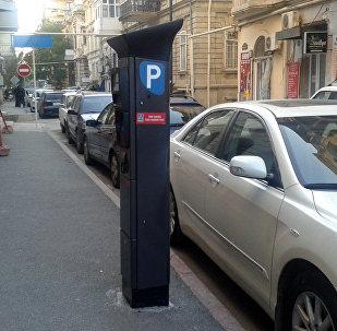 Bakıda parkomat