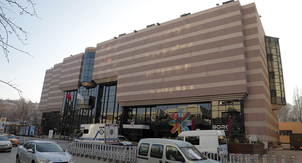 Rusiyanın Ankaradakı səfiri Andrey Karlovun qətlə yetirildiyi bina