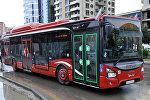 Пассажирский автобус в Баку, фото из архива