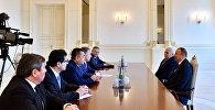 Президент Ильхам Алиев принял председателей парламентов Турции, Казахстана и Кыргызстана