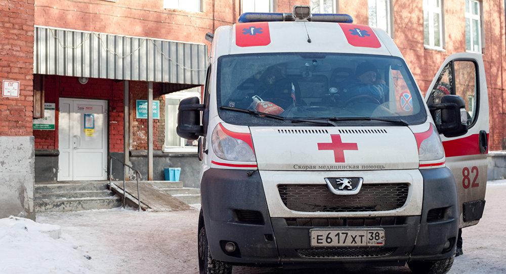 Карета скорой помощи в России, фото из архива