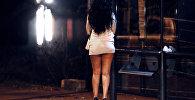 Женщина, занимающаяся проституцией, фото из архива