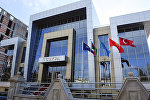 Здание Секретариата Парламентской ассамблеи тюркоязычных стран в Баку