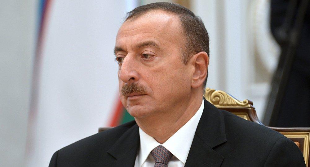 Путин поздравил с55-летием президента Азербайджана