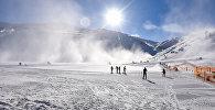 Снежные каникулы в солнечном Азербайджане