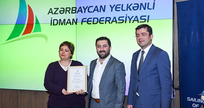 Azərbaycan Yelkənli İdman Federasiyasında media nümayəndələri ilə görüş