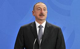 Президент Азербайджана Ильхам Алиев, фото из архива