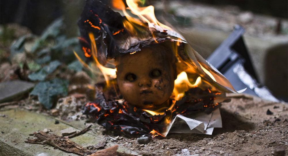 Сгоревшие дети