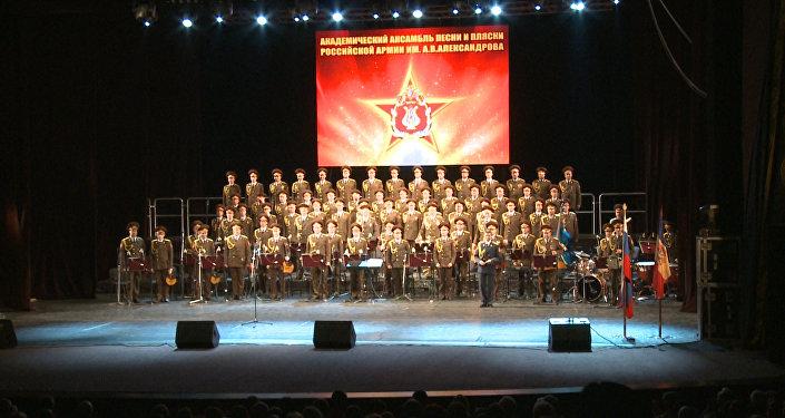 Выступление легендарного ансамбля Александрова в Кишиневе