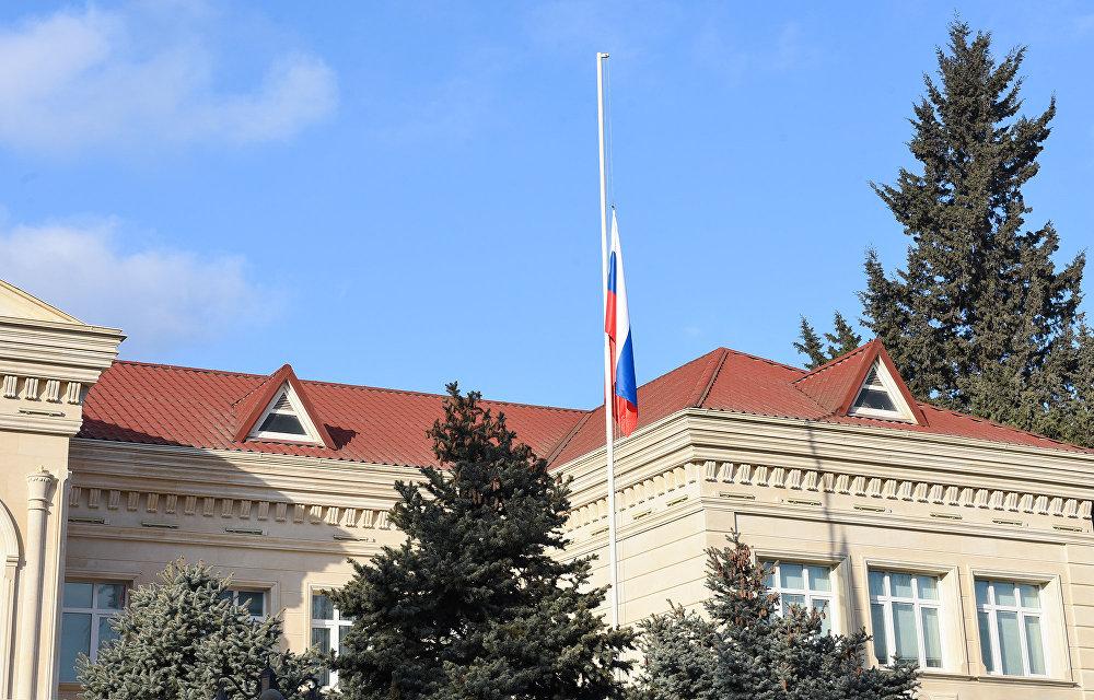 Rusiyanın Bakıdakı səfirliyinin binası