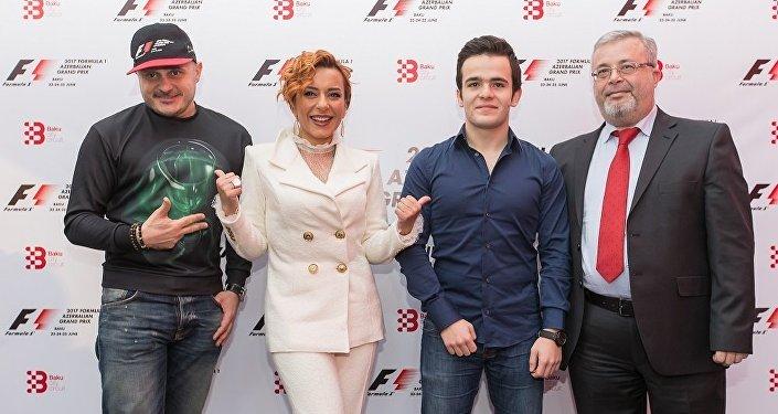 2017 Formula 1 Azərbaycan Qran Prisinin rəsmi yerli elçiləri