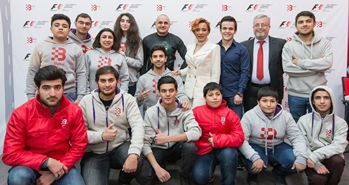 Elçilər və Formula 1 könüllüləri