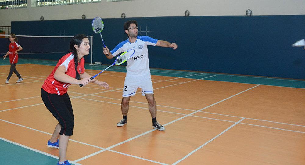 UNEC-in badmintonçuları güclərini sınayıblar