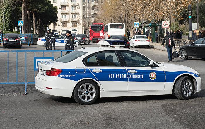 Автомобиль дорожно-патрульной службы, фото из архива