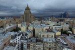 Здание министерства иностранных дел России в Москве, фото из архива