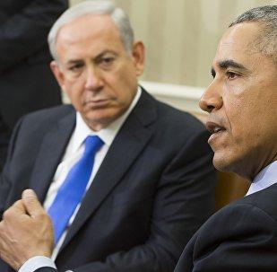 Президент США Барак Обама и премьер-министр Израиля Биньямин Нетаньяху, Овальный кабинет Белого дома в Вашингтоне, 9 ноября 2015 года