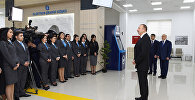 Президент произнес речь перед работниками АСАН Коммунал