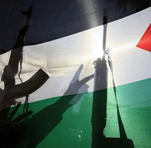Fələstin bayrağı, arxiv şəkli