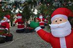 Новогоднее украшение Баку