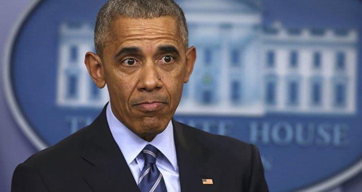 Штатская  агентура  обвинила В.Путина  вовмешательстве ввыборы президента США