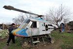 Mirzəxan İmamquliyevin hazırladığı helikopter