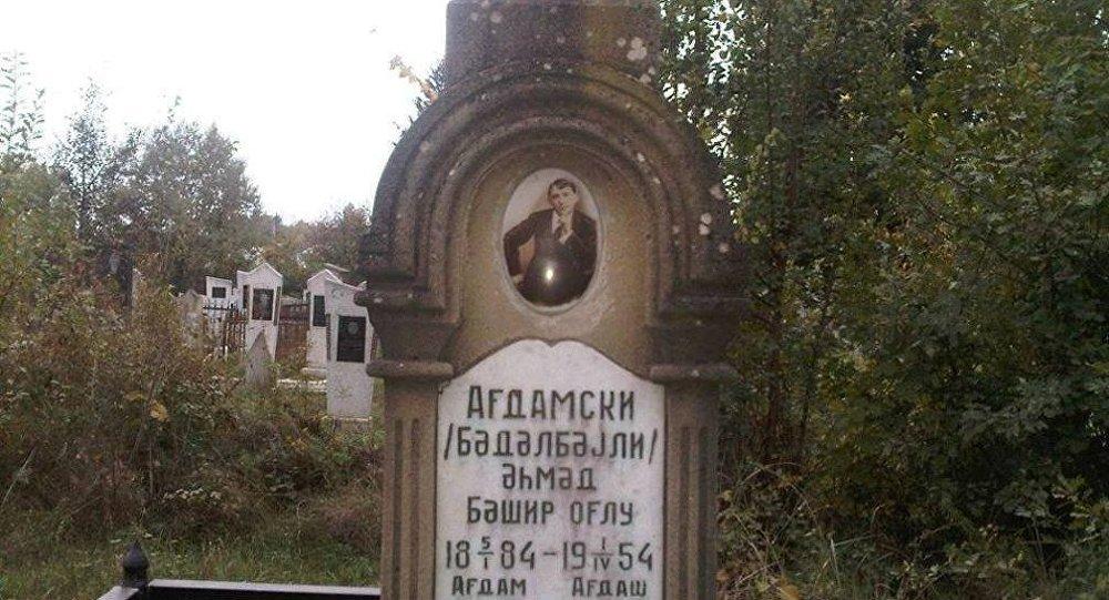 Əhməd Ağdamskinin məzarı