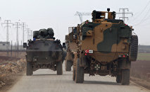 Турецкая военная техника в Сирии, 4 января 2017 года