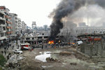 У одного из стадионов в Джебеле в сирийской провинции Латакия произошел взрыв